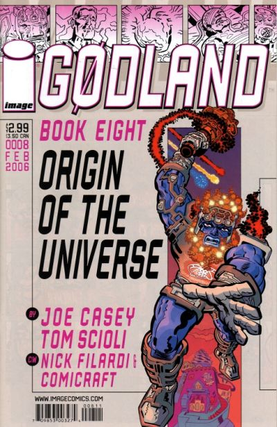 Cover for Godland (Image, 2005 series) #8