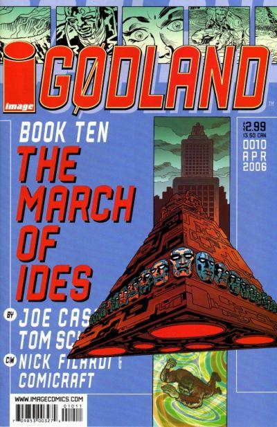 Cover for Godland (Image, 2005 series) #10
