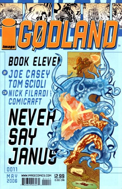 Cover for Godland (Image, 2005 series) #11