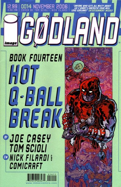 Cover for Godland (Image, 2005 series) #14