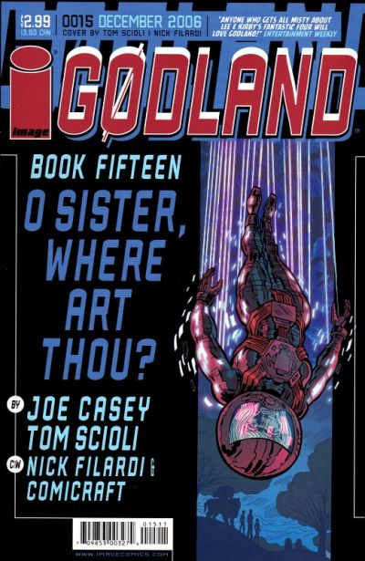 Cover for Godland (Image, 2005 series) #15