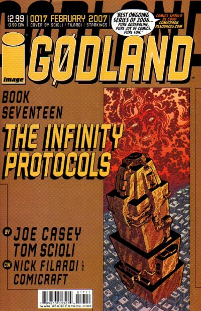 Cover for Godland (Image, 2005 series) #17