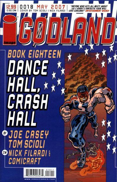 Cover for Godland (Image, 2005 series) #18