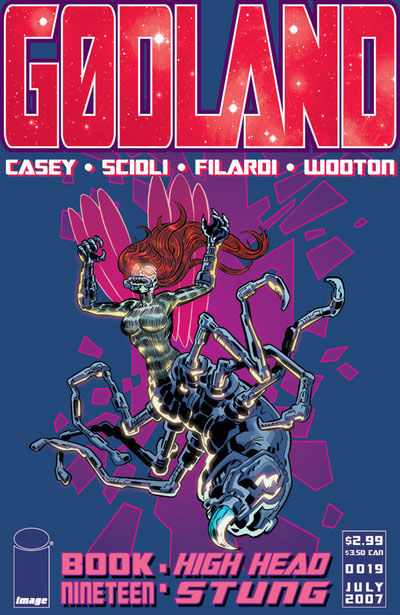 Cover for Godland (Image, 2005 series) #19