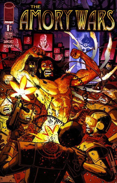 Cover for Amory Wars (Image, 2007 series) #1