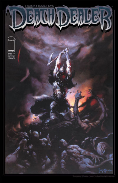 Cover for Frank Frazetta's Death Dealer (Image, 2007 series) #2