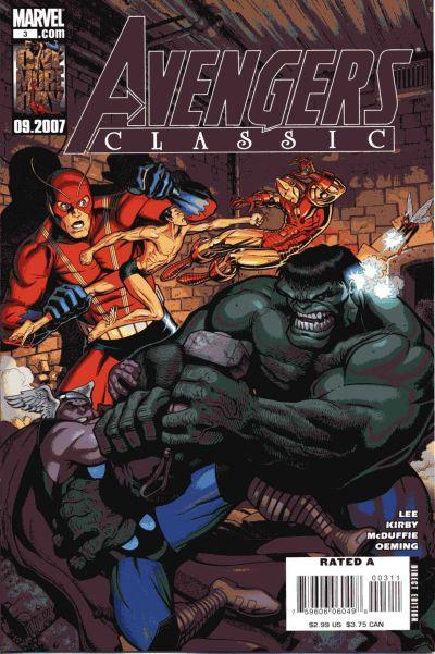 Cover for Avengers Classic (Marvel, 2007 series) #3