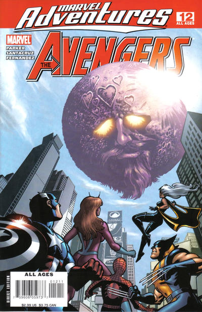 Cover for Marvel Adventures The Avengers (Marvel, 2006 series) #12
