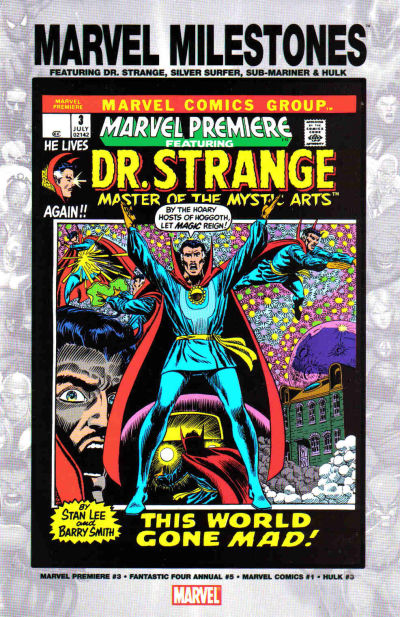 Cover for Marvel Milestones: Dr. Strange, Silver Surfer, Sub-Mariner & Hulk (Marvel, 2005 series)