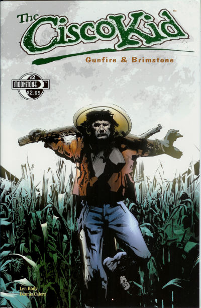 Cover for O. Henry's The Cisco Kid: Gunfire & Brimstone (Moonstone, 2005 series) #2