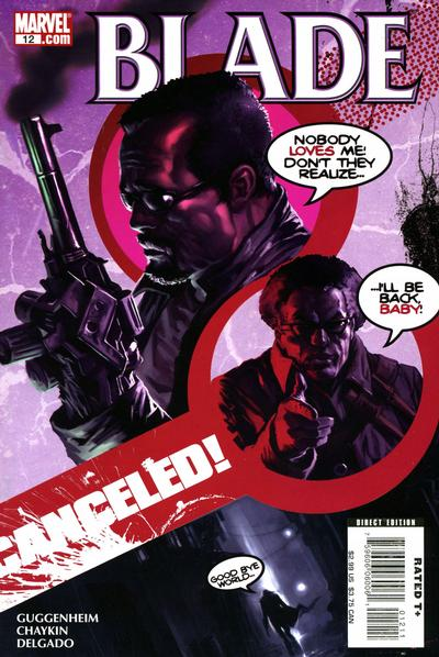 Cover for Blade (Marvel, 2006 series) #12 [Direct Edition]