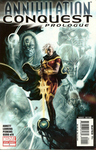Cover for Annihilation: Conquest Prologue (Marvel, 2007 series) #1