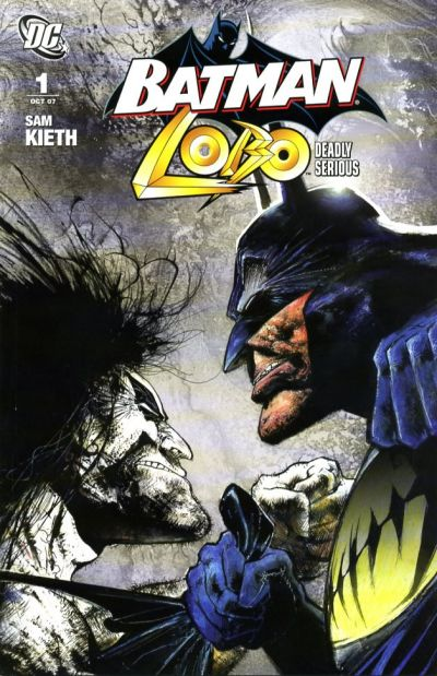 Cover for Batman / Lobo: Deadly Serious (DC, 2007 series) #1