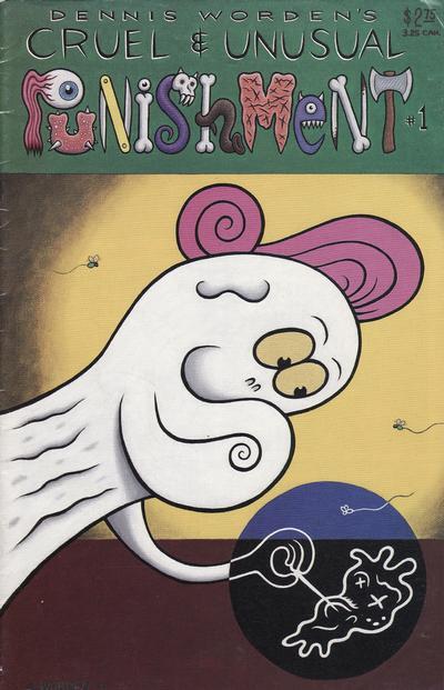 Cover for Cruel and Unusual Punishment (Starhead Comix, 1993 series) #1
