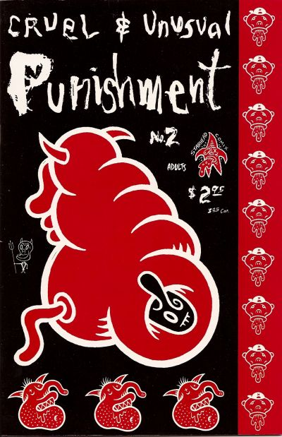 Cover for Cruel and Unusual Punishment (Starhead Comix, 1993 series) #2