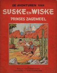 Cover Thumbnail for Suske en Wiske (Standaard Uitgeverij, 1947 series) #5 - Prinses Zagemeel