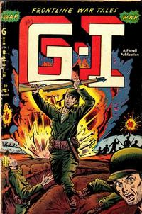 Cover Thumbnail for G-I in Battle (Farrell, 1952 series) #1