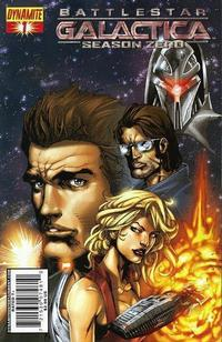 Cover Thumbnail for Battlestar Galactica: Season Zero (Dynamite Entertainment, 2007 series) #1 [Stephen Segovia Cover]