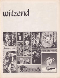 Cover for Witzend (Wallace Wood, 1966 series) #1