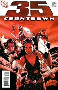 Cover for Countdown (DC, 2007 series) #35