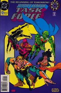 Cover Thumbnail for Justice League Task Force (DC, 1993 series) #0 [Direct Sales]