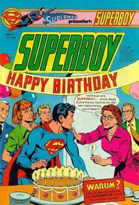 Cover Thumbnail for Superboy (Egmont Ehapa, 1980 series) #6/1980
