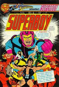 Cover Thumbnail for Superboy (Egmont Ehapa, 1980 series) #7/1980