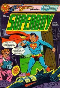 Cover Thumbnail for Superboy (Egmont Ehapa, 1980 series) #8/1981