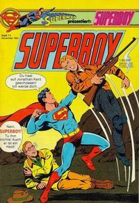 Cover Thumbnail for Superboy (Egmont Ehapa, 1980 series) #11/1981