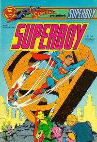 Cover Thumbnail for Superboy (Egmont Ehapa, 1980 series) #12/1981