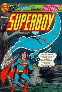 Cover Thumbnail for Superboy (Egmont Ehapa, 1980 series) #13/1981