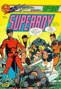 Cover Thumbnail for Superboy (Egmont Ehapa, 1980 series) #6/1982