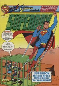 Cover Thumbnail for Superboy (Egmont Ehapa, 1980 series) #11/1982