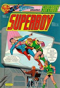 Cover Thumbnail for Superboy (Egmont Ehapa, 1980 series) #2/1983