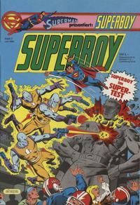 Cover Thumbnail for Superboy (Egmont Ehapa, 1980 series) #7/1983