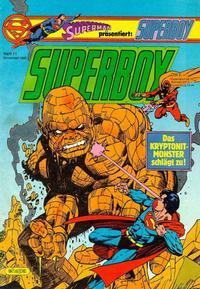Cover Thumbnail for Superboy (Egmont Ehapa, 1980 series) #11/1983