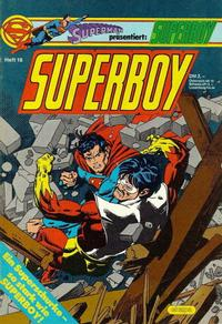 Cover Thumbnail for Superboy (Egmont Ehapa, 1980 series) #16