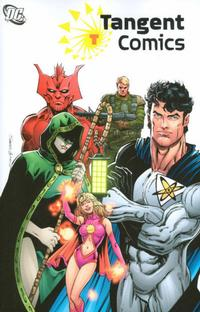 Cover Thumbnail for Tangent Comics (DC, 2007 series) #1