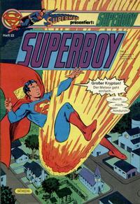 Cover Thumbnail for Superboy (Egmont Ehapa, 1980 series) #22