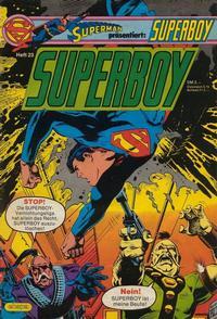 Cover Thumbnail for Superboy (Egmont Ehapa, 1980 series) #23