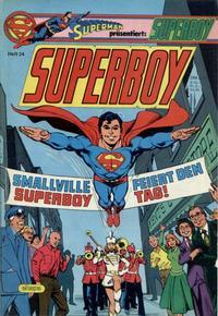 Cover Thumbnail for Superboy (Egmont Ehapa, 1980 series) #24