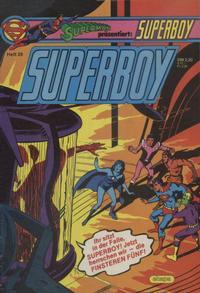 Cover Thumbnail for Superboy (Egmont Ehapa, 1980 series) #29