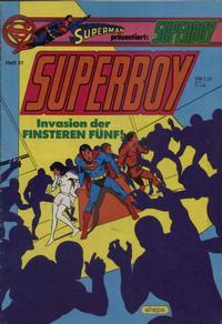 Cover Thumbnail for Superboy (Egmont Ehapa, 1980 series) #31