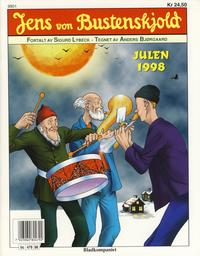 Cover Thumbnail for Jens von Bustenskjold (Bladkompaniet / Schibsted, 1985 series) #1998