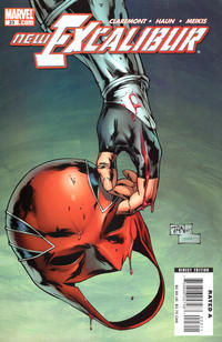 Cover Thumbnail for New Excalibur (Marvel, 2006 series) #23 [Direct Edition]