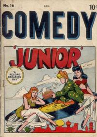 Cover Thumbnail for Comedy (Bell Features, 1950 series) #16