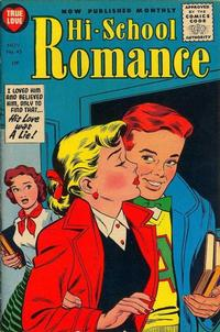 Cover Thumbnail for Hi-School Romance (Harvey, 1949 series) #45