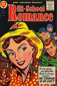 Cover Thumbnail for Hi-School Romance (Harvey, 1949 series) #46