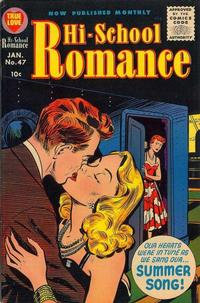 Cover Thumbnail for Hi-School Romance (Harvey, 1949 series) #47