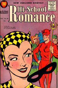 Cover Thumbnail for Hi-School Romance (Harvey, 1949 series) #48